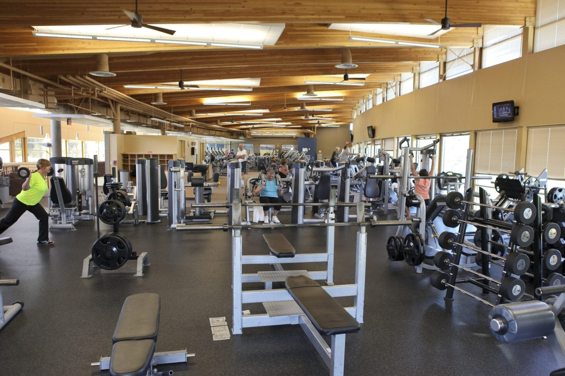 North Free Weight Area
