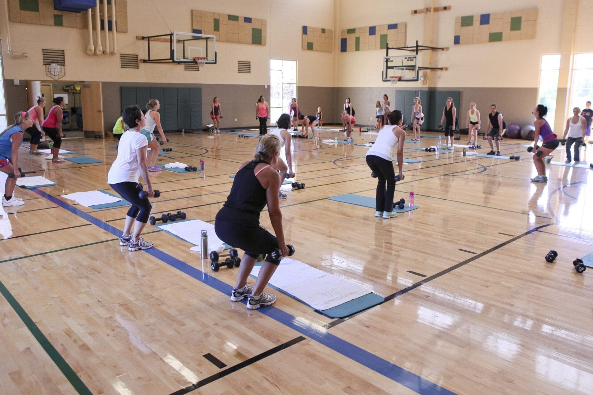 North Gym Fitness Class