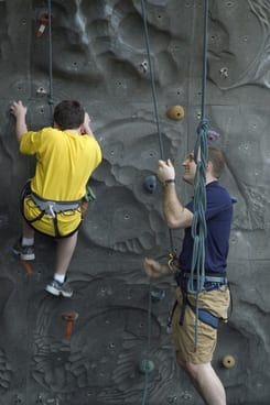 Valley Y Climbing Wall