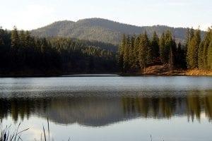 Camp Reed Fan Lake Reflections sm